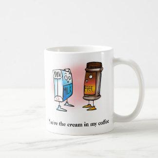 Cream in my Coffee Mug