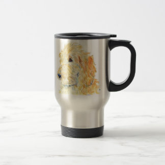 Cream Labradoodle #2 Travel Mug