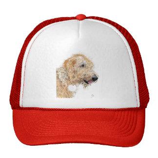 Cream Labradoodle Cap Hat