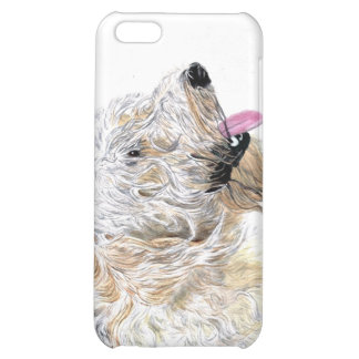 Cream Labradoodle Cover For iPhone 5C