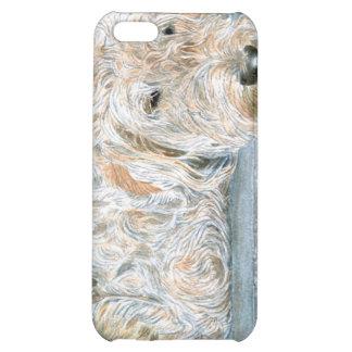 Cream Labradoodle iPhone 5C Cases