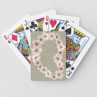 Cream Lei Bicycle® Play Bicycle Playing Cards