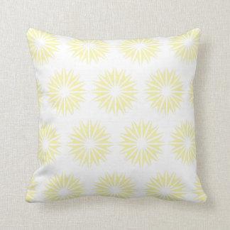 Cream Modern Sunbursts Pillows
