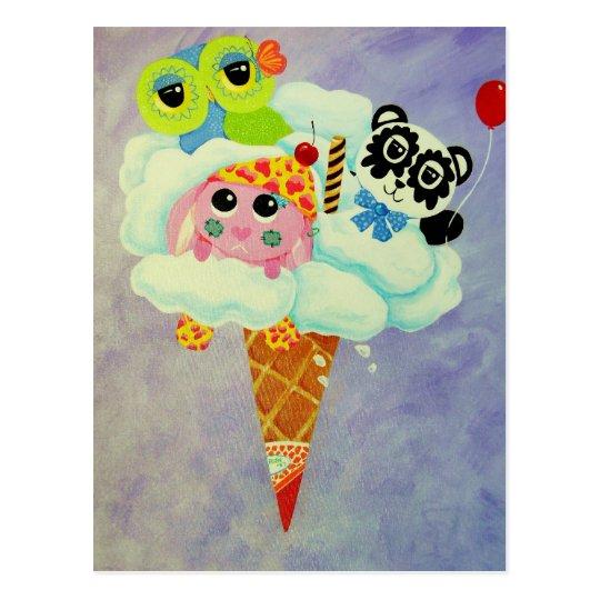 Cream Of The Cloud Postcard