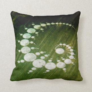 Cream Of  The Crop Circle Throw Pillow
