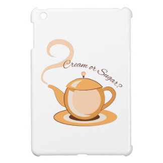 Cream Or Sugar? iPad Mini Cover