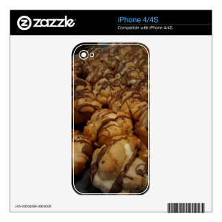 Cream Puff Skin For iPhone 4S