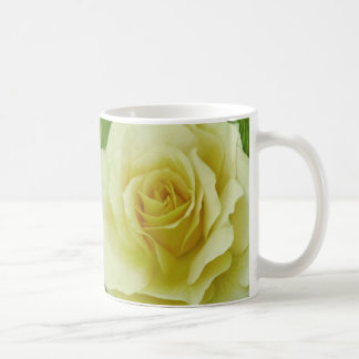 Cream Rose and meaning Classic White Coffee Mug