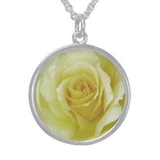 Cream Rose and meaning Pendant