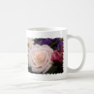 Cream Rose Classic White Coffee Mug
