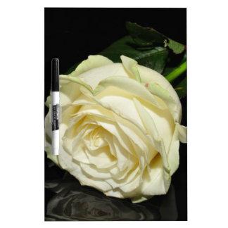 Cream Rose Dry-Erase Board