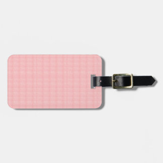 CREAM rose pink crystal TEMPLATE Blank GIFTS ALL Travel Bag Tag