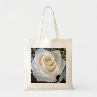 hallowelllake Cream Rose Tote Bag