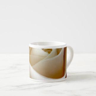 Cream Rose Wedding Photo 6 Oz Ceramic Espresso Cup