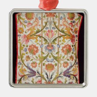 Cream satin chasuble, Naples, late 17th century Metal Ornament