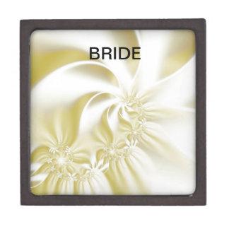 Cream Silk Effect Wedding Gift Box