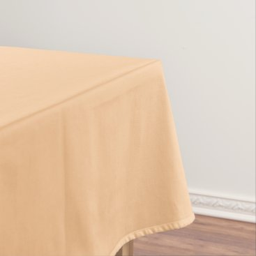 Beach Themed Cream Tablecloth solid