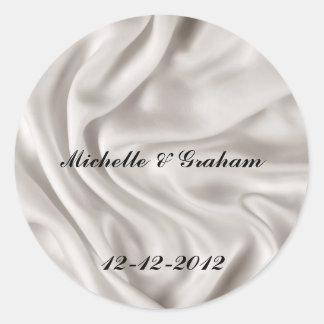 Cream Wedding Sticker Set