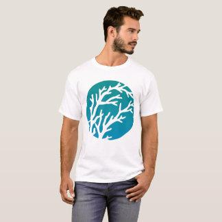 Cream Wheels Big Blue Tree T-Shirt