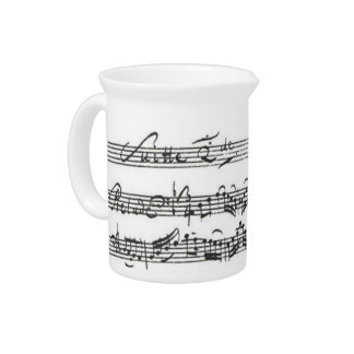 Creamer Bach Cello Suite Drink Pitcher