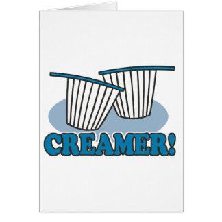 creamer card