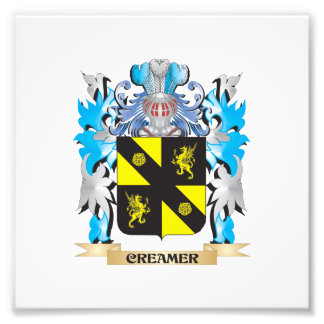 Creamer Coat of Arms - Family Crest Photograph