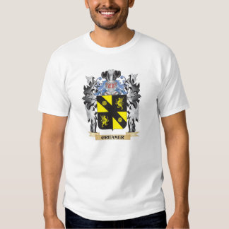 Creamer Coat of Arms - Family Crest Tee Shirts