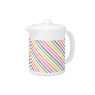 Creamer/Teapot - Striped for Painted Spider Mum Teapot