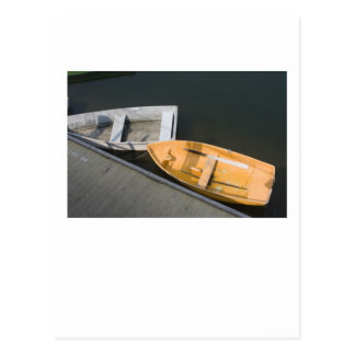 Creamsicle Boats Postcard