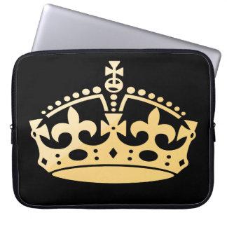 Creamsicle Jubilee Crown Laptop Sleeves