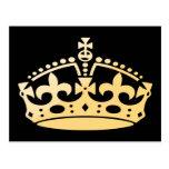 Creamsicle Jubilee Crown Post Cards