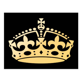 Creamsicle Jubilee Crown Postcard