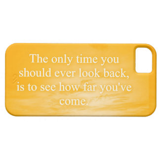 CREAMSICLE ORANGE WORDS WISDOM THE ONLY TIME YOU S iPhone 5/5S COVERS