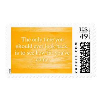 CREAMSICLE ORANGE WORDS WISDOM THE ONLY TIME YOU S POSTAGE