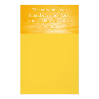 CREAMSICLE ORANGE WORDS WISDOM THE ONLY TIME YOU S PERSONALIZED STATIONERY