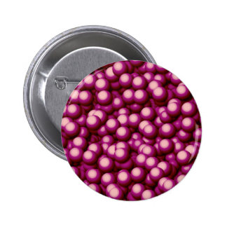 Creamy Bubbles,hot pink 2 Inch Round Button