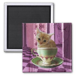 Creamy Coffee (purple room) art magnet