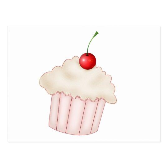 Creamy Cupcake Postcard