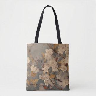 Creamy Dogwood Tote Bag