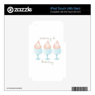 Creamy Ice Cream iPod Touch 4G Decals