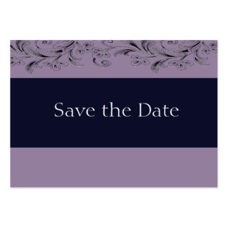 Creamy Lavender Tropical Vines Save The Date Cards