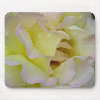 Creamy Rose Mousepad