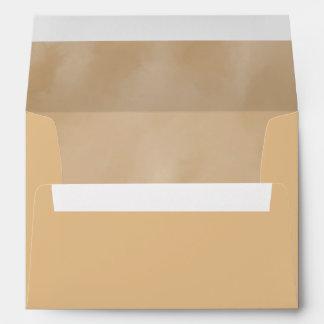 Creamy Tan Textured Background Envelopes