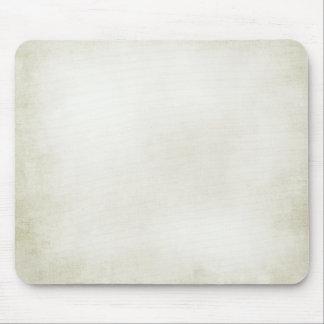 creamy white mouse pad