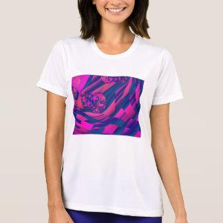 Creando los mundos - magia magenta abstracta del z camiseta