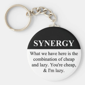 Crear la sinergia de organización 3 llavero