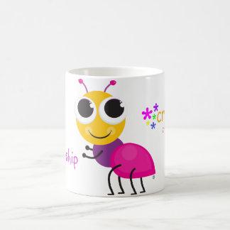 """Crear mi mejor diseño de la """"hormiga"""" de la vida taza de café"""