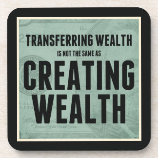 Crear riqueza posavasos