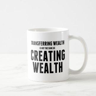 Crear riqueza taza