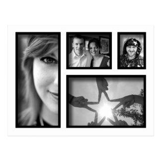 Crear-Su-Propia postal del collage de la foto